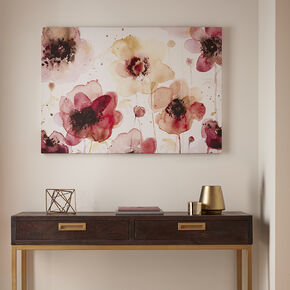 Bedruckte Leinwand Painterly Blossoms, , large