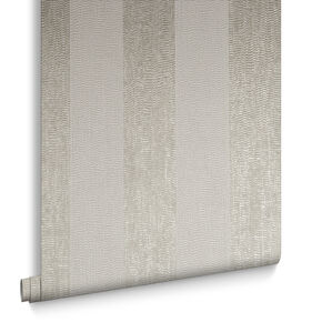 Water Silk Stripe Elfenbein & Taupe, , large