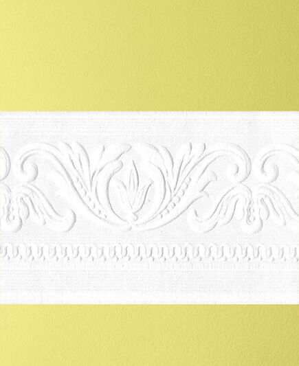 Classic Scroll Paintable Border, , large