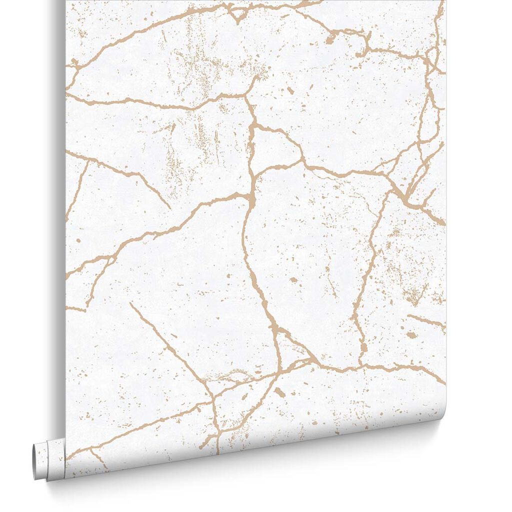 Kintsugi Gold Wallpaper, , large