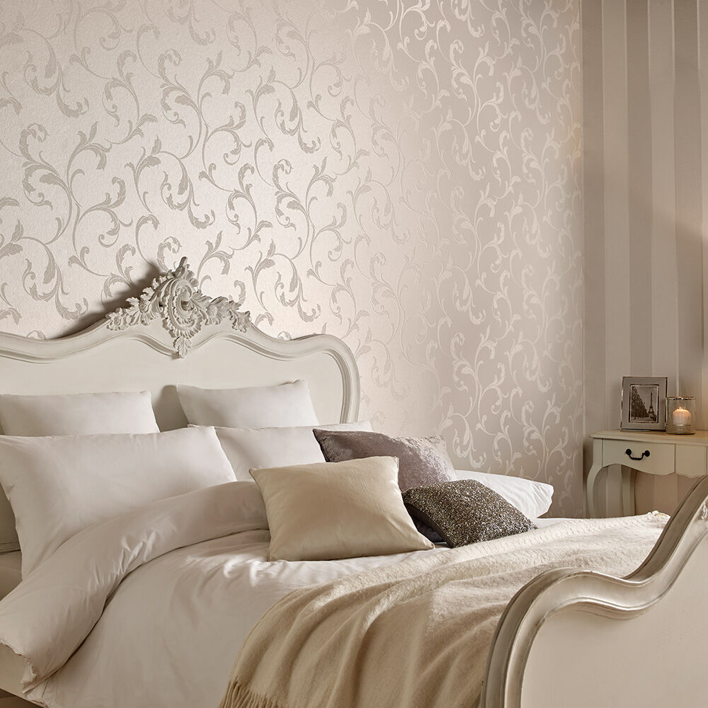 Superb ... Large Baroque Bead Pearl Wallpaper, ...
