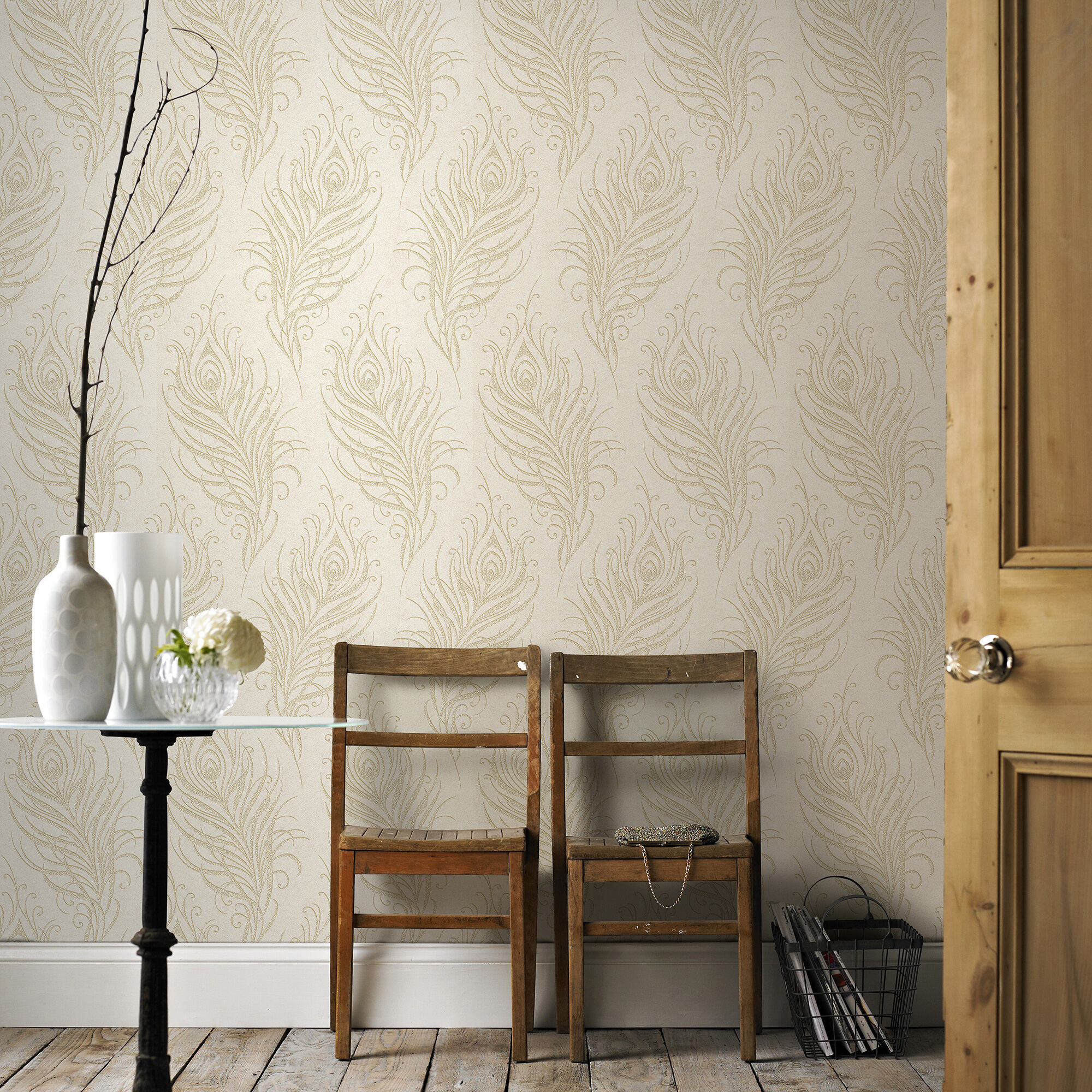 ... Large Quill Oyster Wallpaper, ...