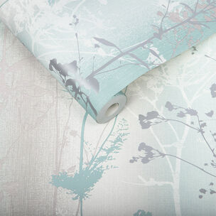 Wild Flower Mint Wallpaper, , large