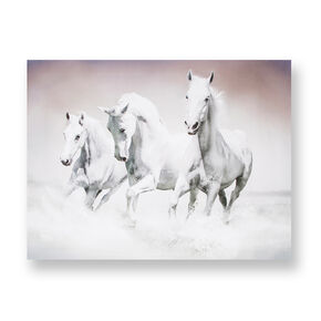 Galloping Waves Printed Canvas Wall Art, , large