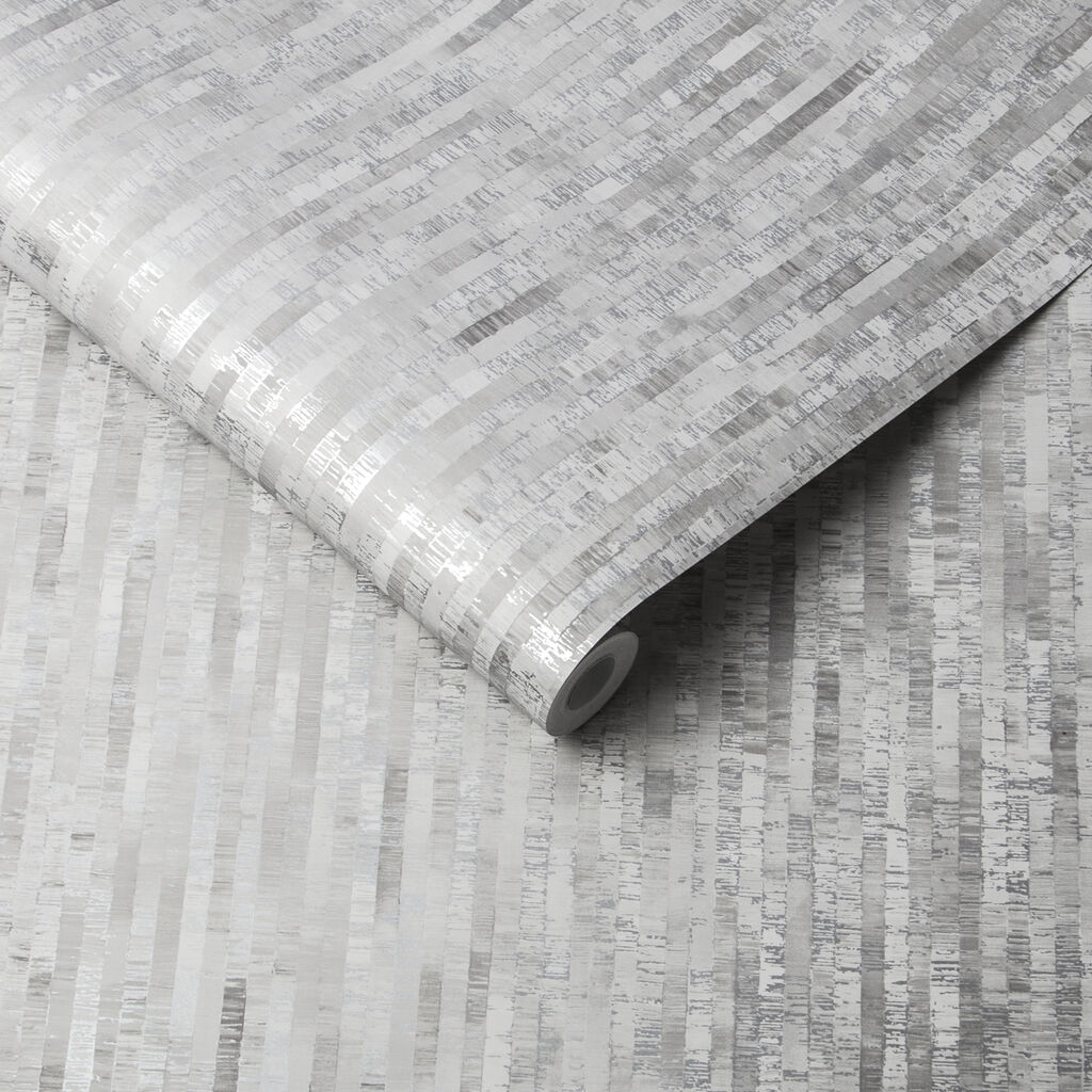 Betula Silver Wallpaper, , large
