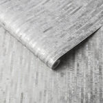 Betula Silver Wallpaper