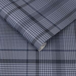 Heritage Plaid Blue Wallpaper