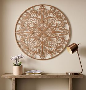 Copper Luxe Metal Wall Art , , large