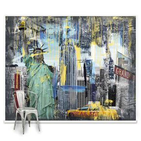 Fotobehang Couture New York Graffiti, , large