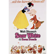 Snow White Printed Canvas, , large