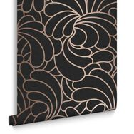 Bananas Rose Noir Wallpaper, , large