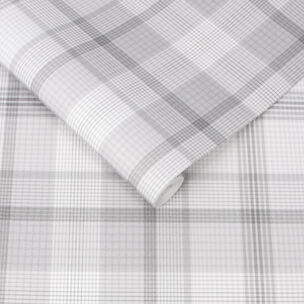 Heritage Plaid Gray Wallpaper, , large