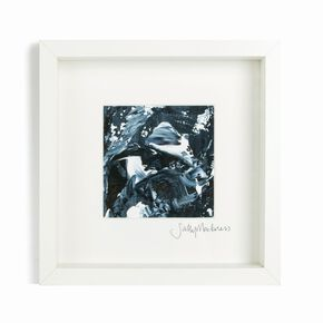 Sally Mackness Midnight Storm Hand Painted Framed Wall Art, , large