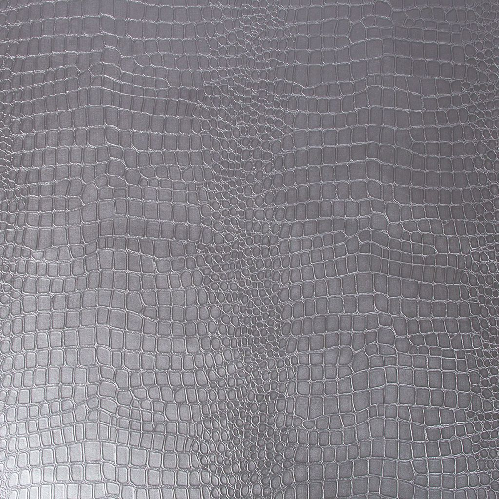 Crocodile Silver Wallpaper, , large