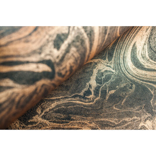 Marbled Charcoal and Rose Gold Wallpaper, , large