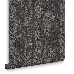 Cashmere Charcoal And Champagne Wallpaper