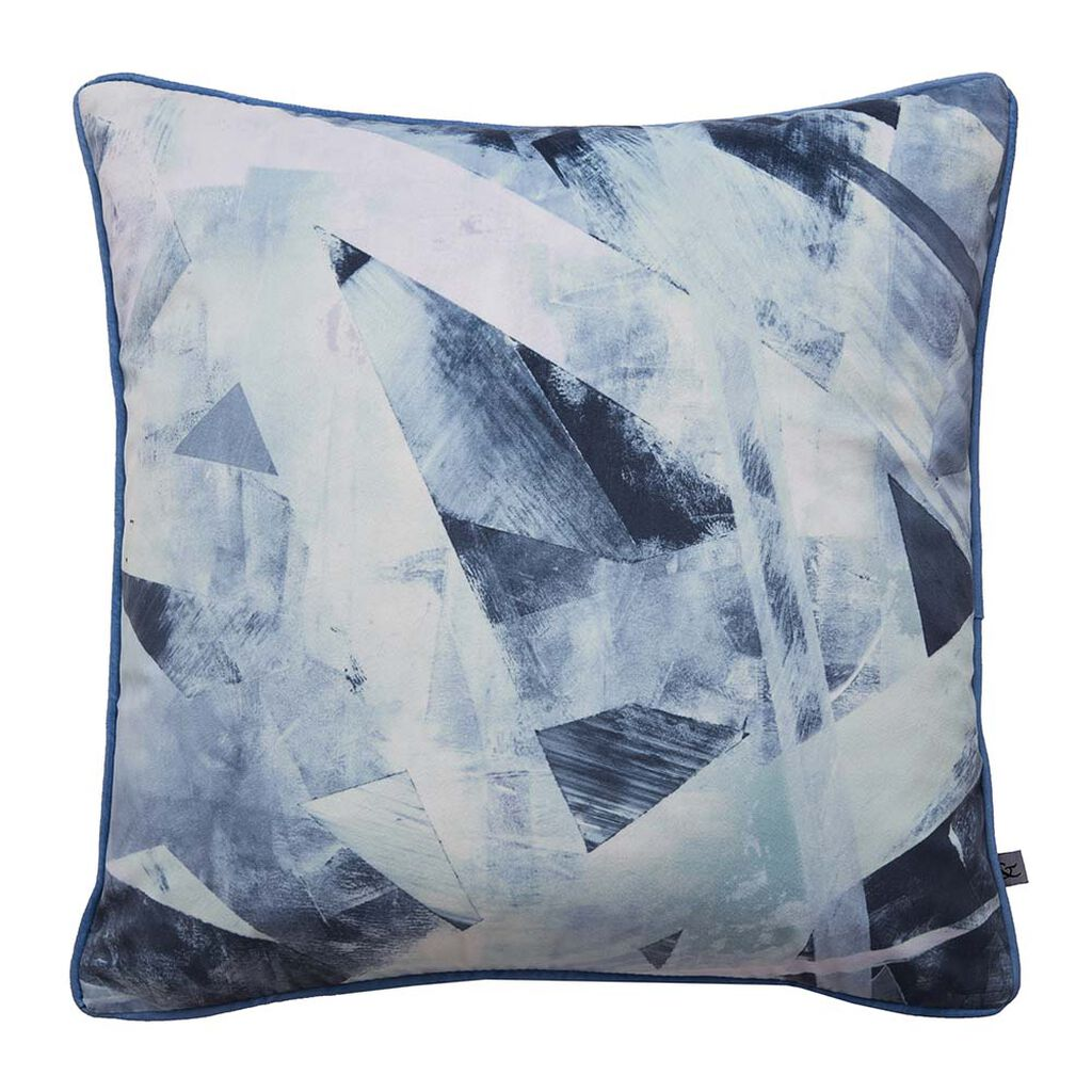Aura Blue Cushion, , large