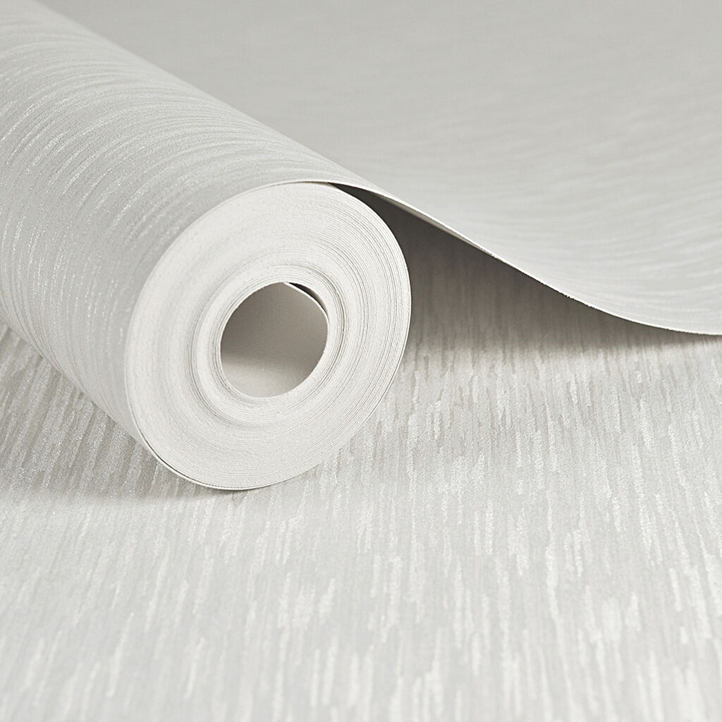 Iris Plain White Wallpaper, , large