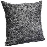 Dusky Gray Textured Pillow, , large