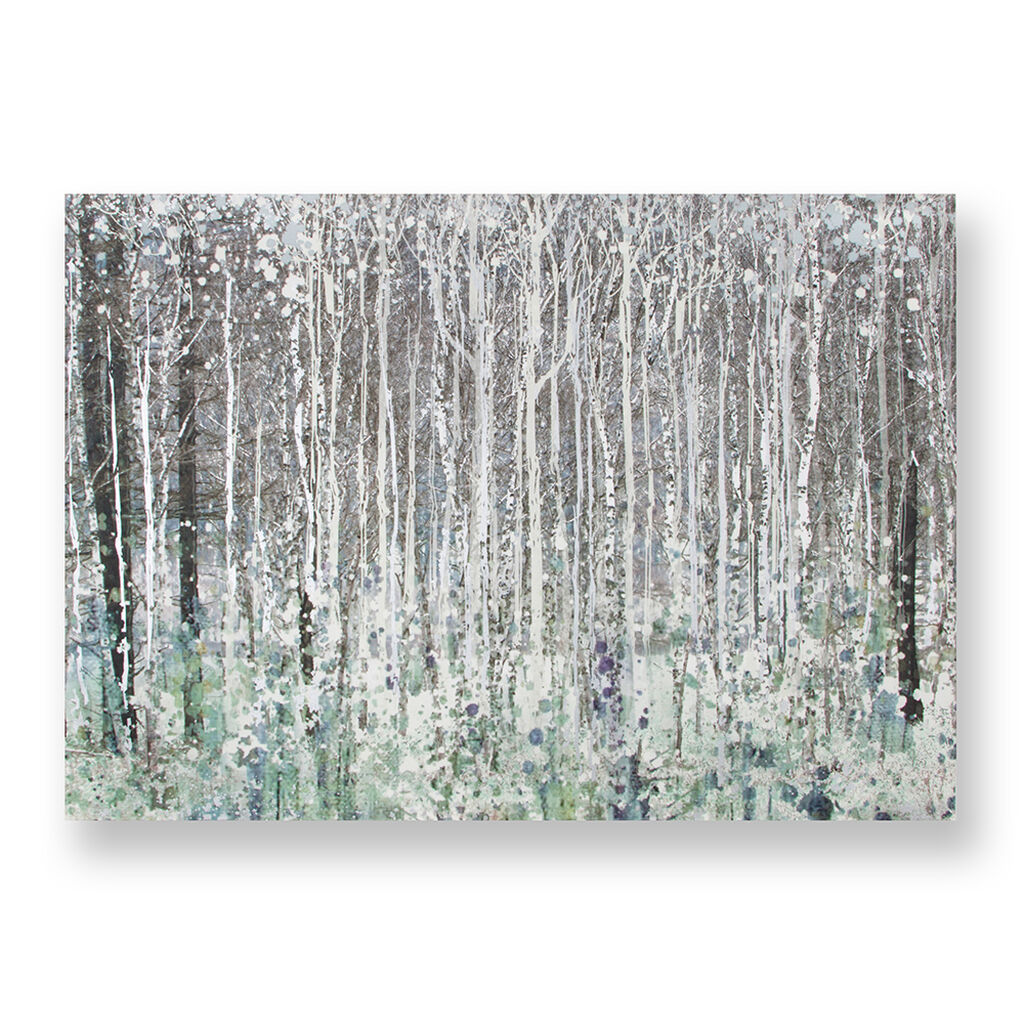 Bedruckte Leinwand Watercolour Woods, , large