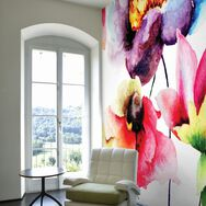 Fotobehang Watercolour Flora, , large