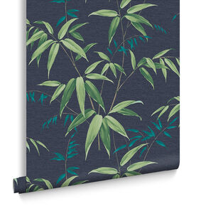 Oriental Bamboo Tapete Midnight, , large