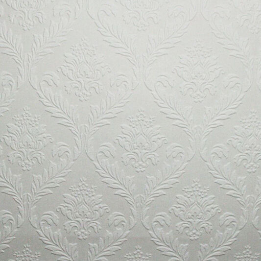 Medium Damask Wallpaper, , large