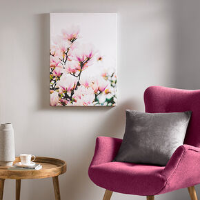 Magnolia Blossoms Printed Canvas Wall Art, , large