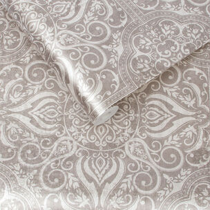 Souk Tile Cardamom Wallpaper, , large