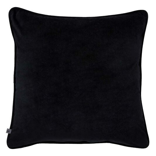 Gothic Bugs Black & Silver Pillow , , large