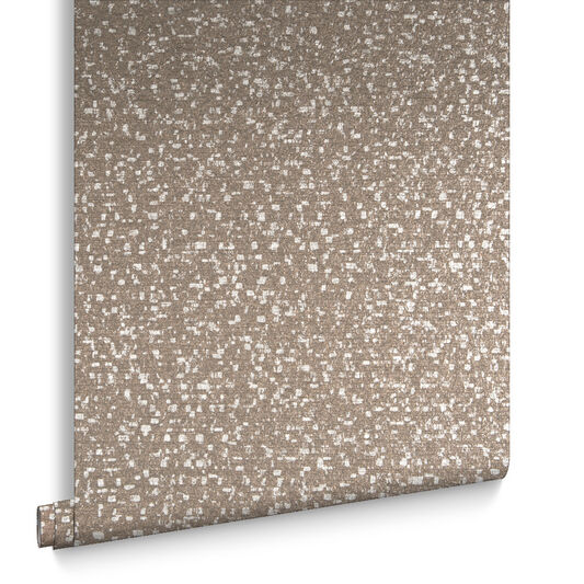 Confetti Chocolate & Rose Gold Behang, , large