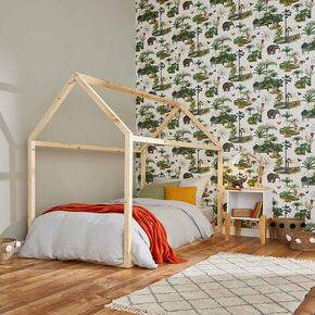 Tropique Zoo Wild Wallpaper, , large