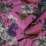 Jardin Magenta Wallpaper
