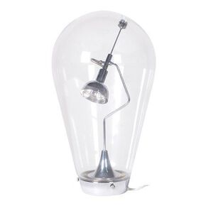 Oversized Light Bulb Glass Table Lamp, , large