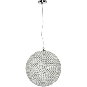 Glass Beaded Ball Pendant Light, , large
