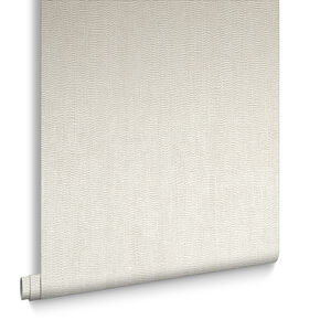 Water Silk Plain Ivory Wallpaper, , large