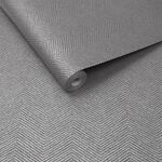 Chevron Texture Silver Wallpaper
