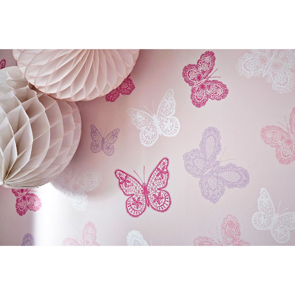 Butterfly Wallpaper, , large