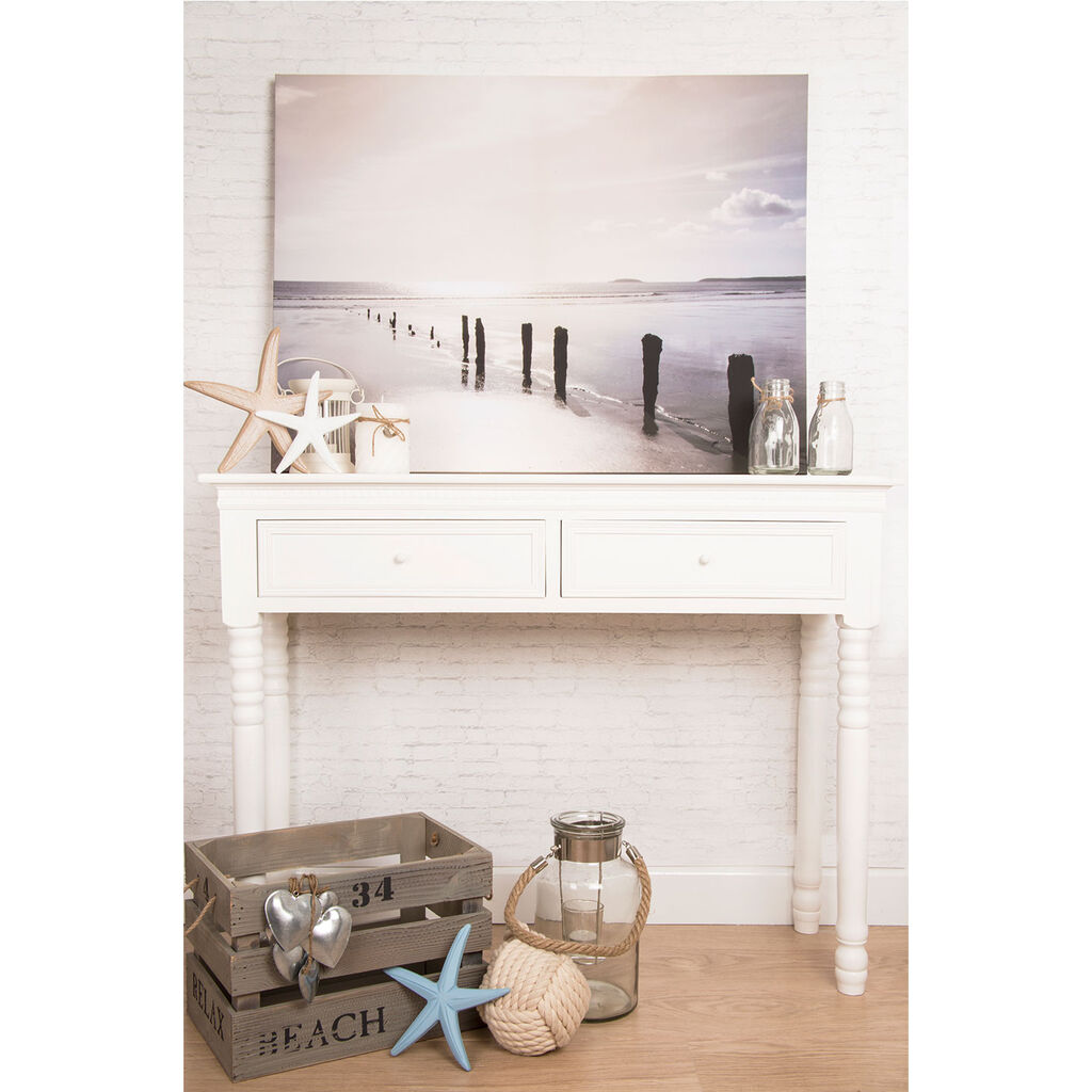 Distant Shores Printed Canvas Wall Art, , large