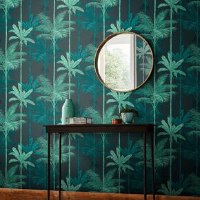 Jungle Mood Green Wallpaper, , large