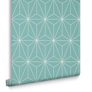 Prism Mint Behang, , large