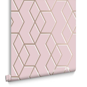 Archetype Pink Wallpaper, , large
