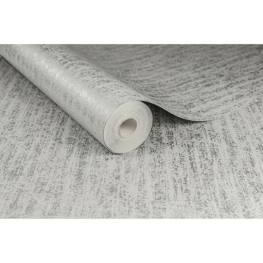 Devore Silver Wallpaper, , large