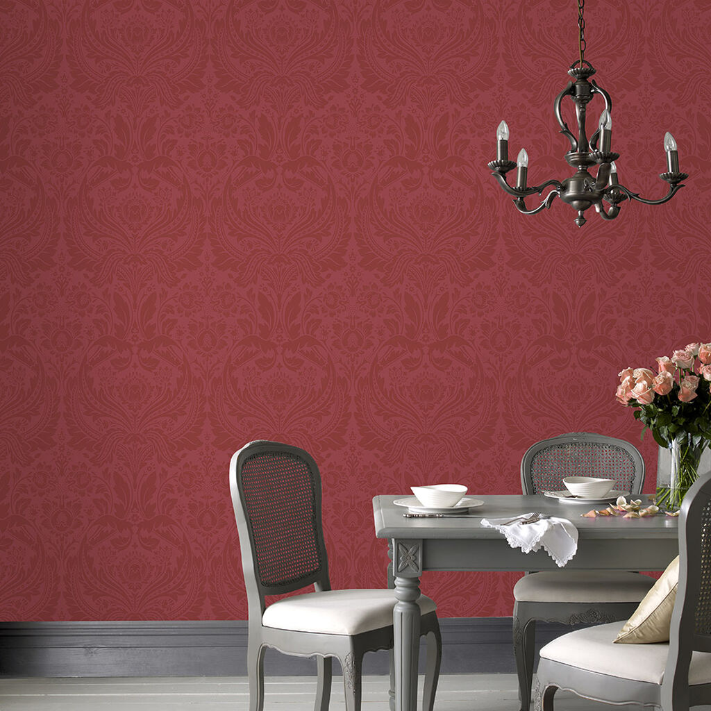 Desire Red Wallpaper, , large