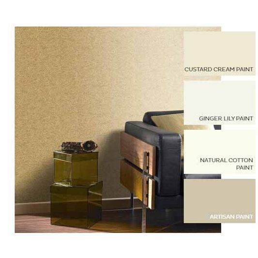 Tranquil Gold Wallpaper, , large