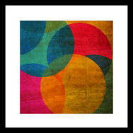 Neon Circle Wall-art, , large