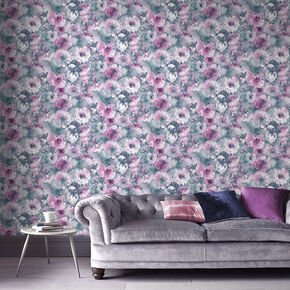 Boheme Jade Wallpaper, , large