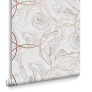 Aqueous Geo Stone Wallpaper, , large