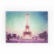 Paris At Dusk Printed Canvas, , large