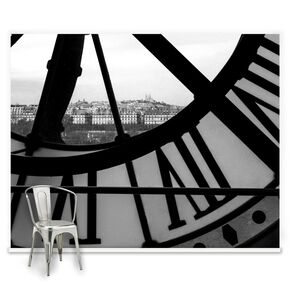 Orsay Clock Ready Made Mural, , large